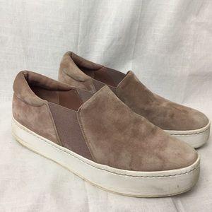 VINCE Warren Platform Hydrangea Sneakers Sz 10